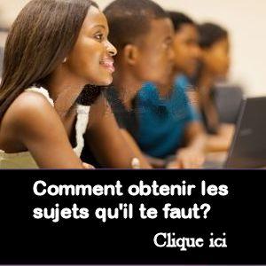 Bac       corrig  s   crits dissertation sujet SES Obligatoire Bac     Le Figaro Etudiant